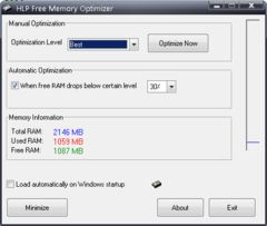 download HLP Free Memory Optimizer