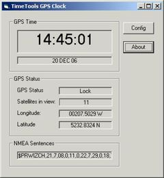 download GPS Clock