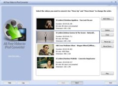 download All Free Video to iPod Converter