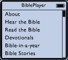 download BiblePlayer for iPod