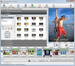 download PhotoStage Free Photo Slideshow Software