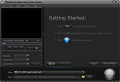 download Free BlackBerry Video Converter Factory