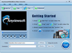 download Anyviewsoft BlackBerry Video Converter