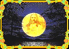 download Real face of Jesus in the Fullmoon