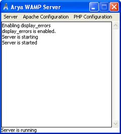 download Arya WAMP Server