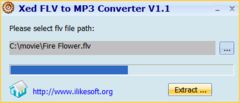 download Xed FLV to MP3 Converter