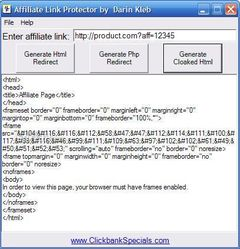 download Affiliate's Link Protector