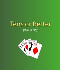 download Free Poker 10's or Better