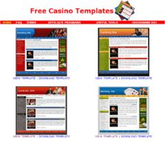 download Free Casino Templates