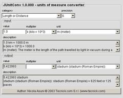 download JUnitConv - Units Of Measure Converter