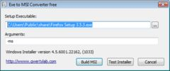 download Exe to Msi Converter free