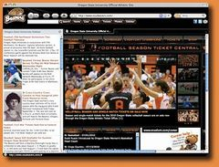 download Oregon State Beavers Firefox Theme