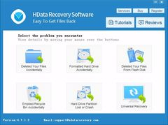 download HData Recovery 4.7 - Recover Deleted Files