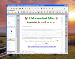 download SSuite NoteBook Editor