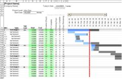 download Gantt Chart Template for Excel