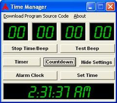 download Time Manager and Reminder