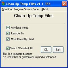 download Xes Temporary Files Cleaner