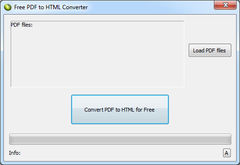 download LotApps Free PDF to HTML Converter