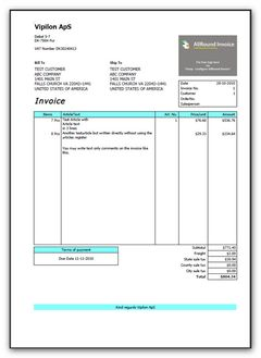 download All-Round Invoice