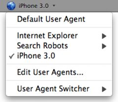 download User Agent Switcher